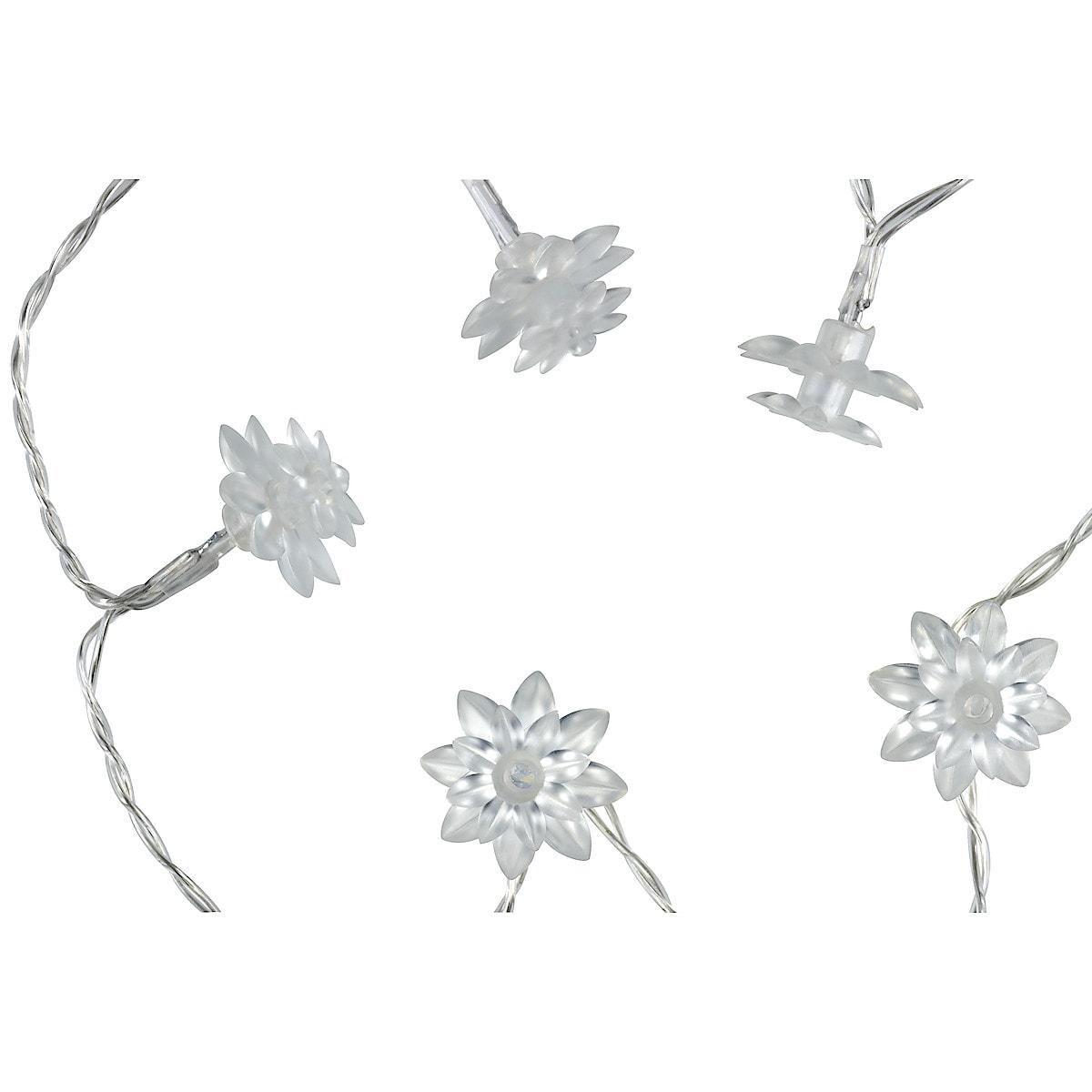 Flower LED string lights