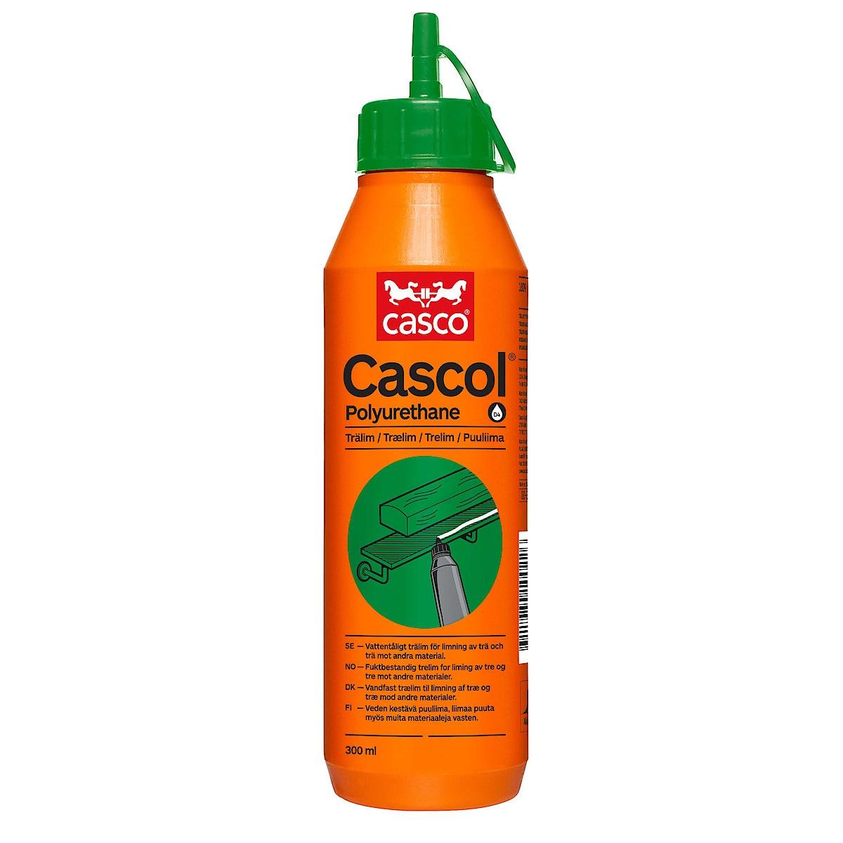 Vattenfast polyuretanlim Cascol Casco