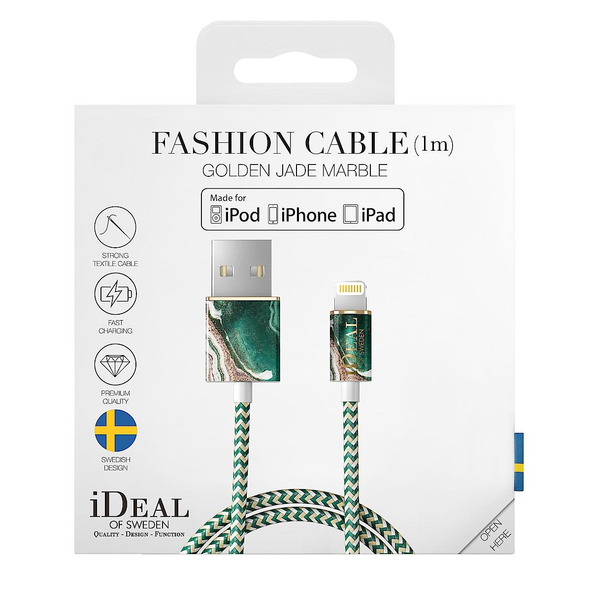 Laddkabel Lightning för iPhone/iPad, iDeal of Sweden