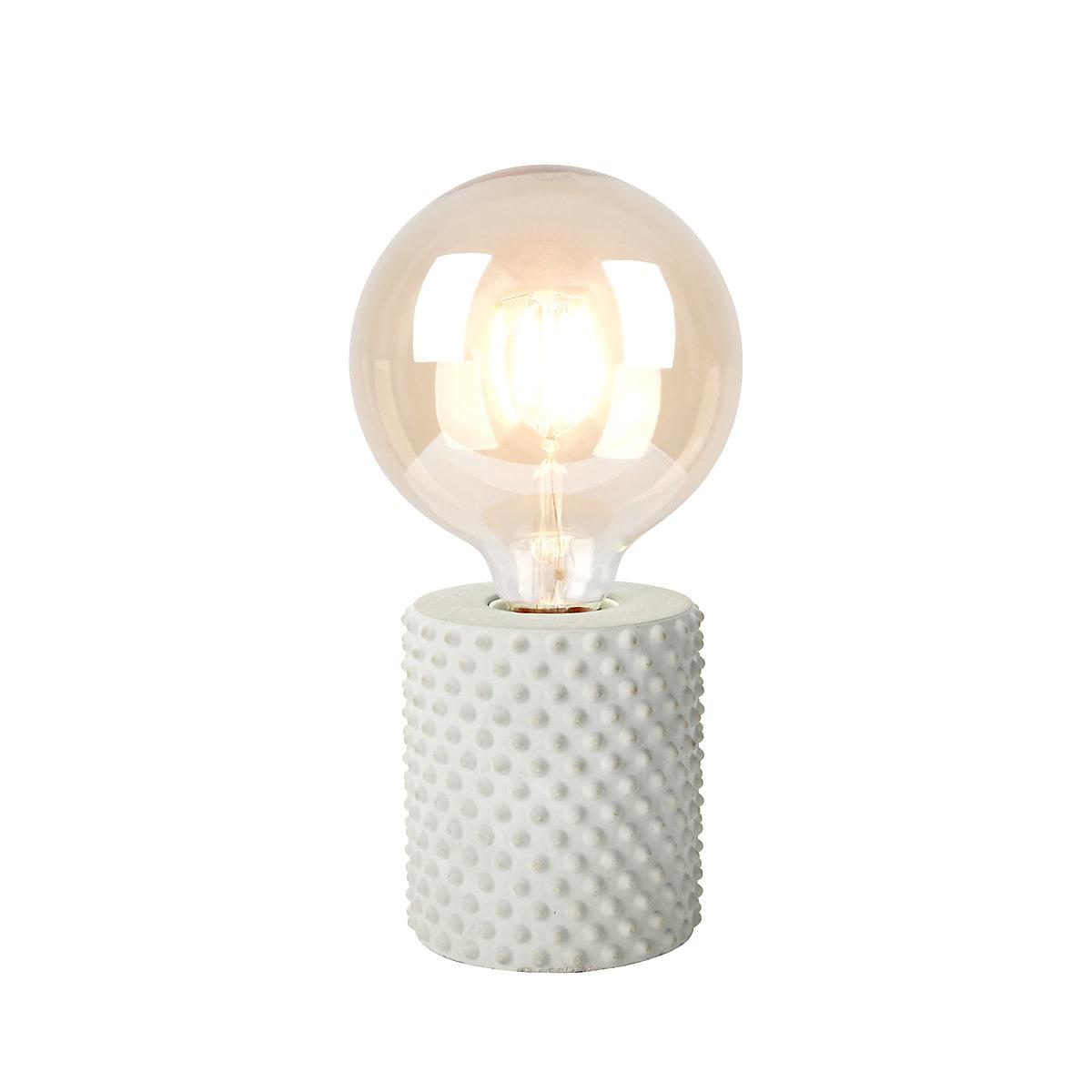 Tube bordlampe fra Clas Ohlson i grå betong 2 stk! 119