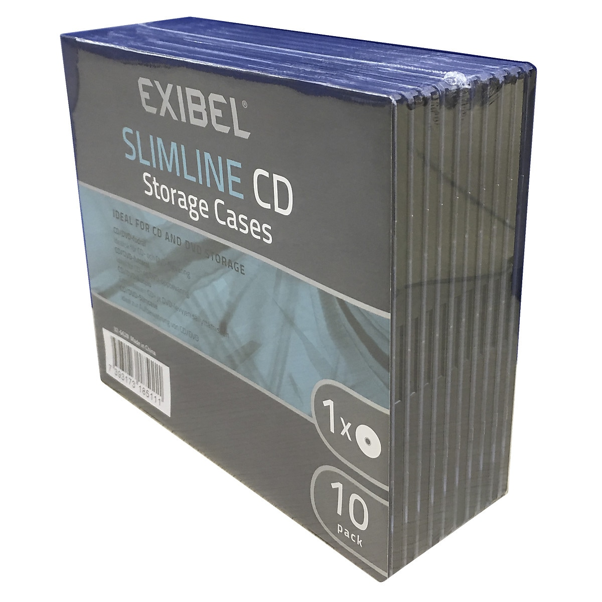 CD-Hülle Exibel Slim