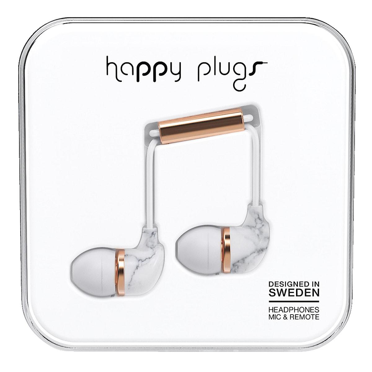 Kopfhörer mit Mikrofon, Happy Plugs In-Ear Unik Edt