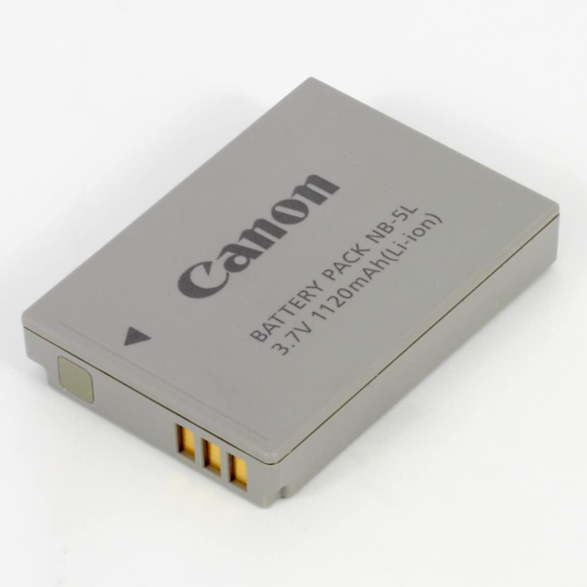 Canon NB-5L, batteri