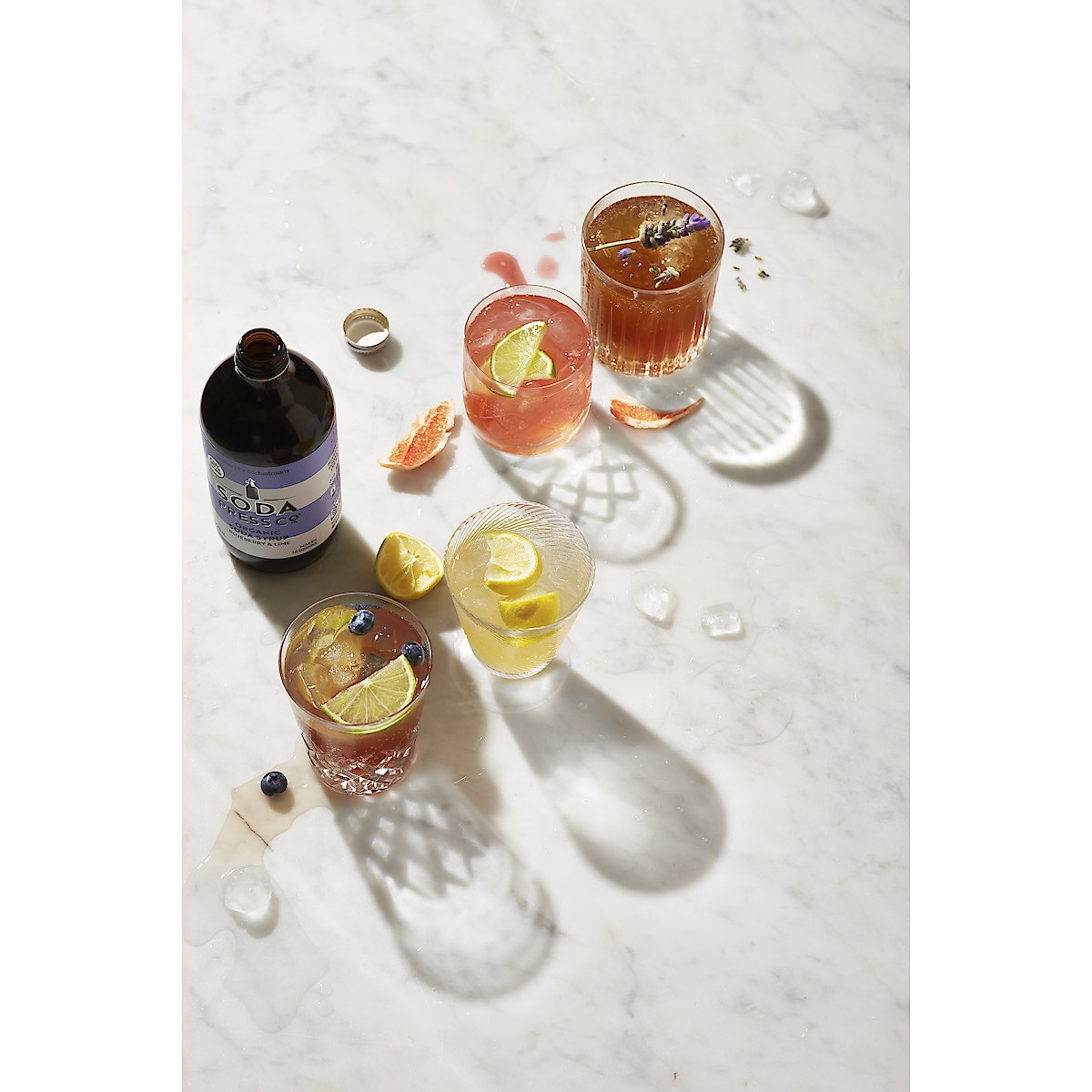 SodaStream Soda Press 500 ml, smakskonsentrat