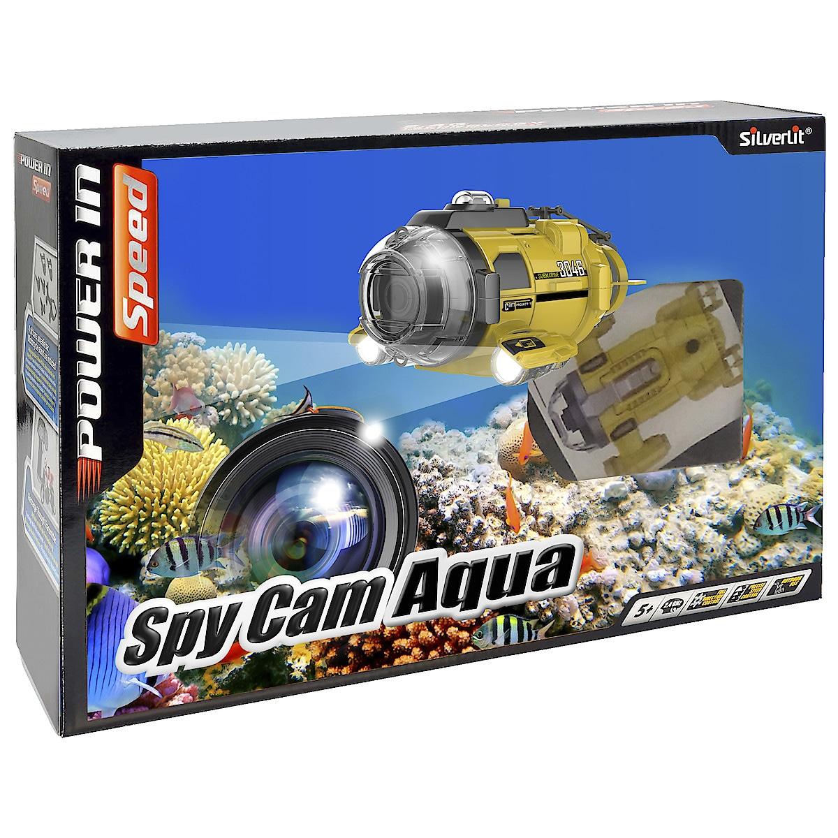 Silverlit Spy Cam Aqua radiostyrt ubåt med kamera