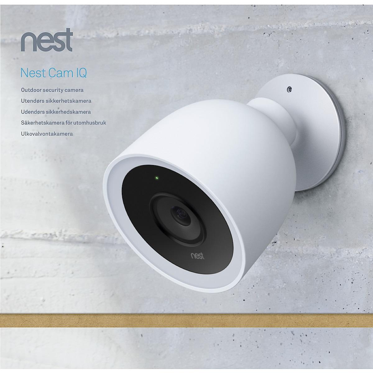 Övervakningskamera Google Nest Cam IQ Outdoor