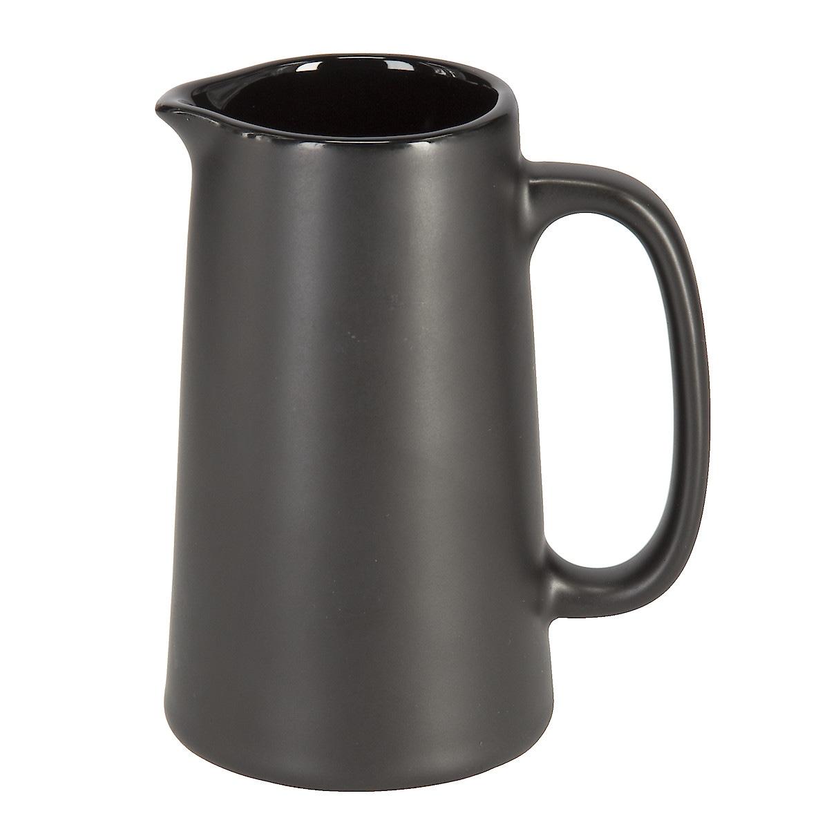 Mjölkkanna svart, 28 cl