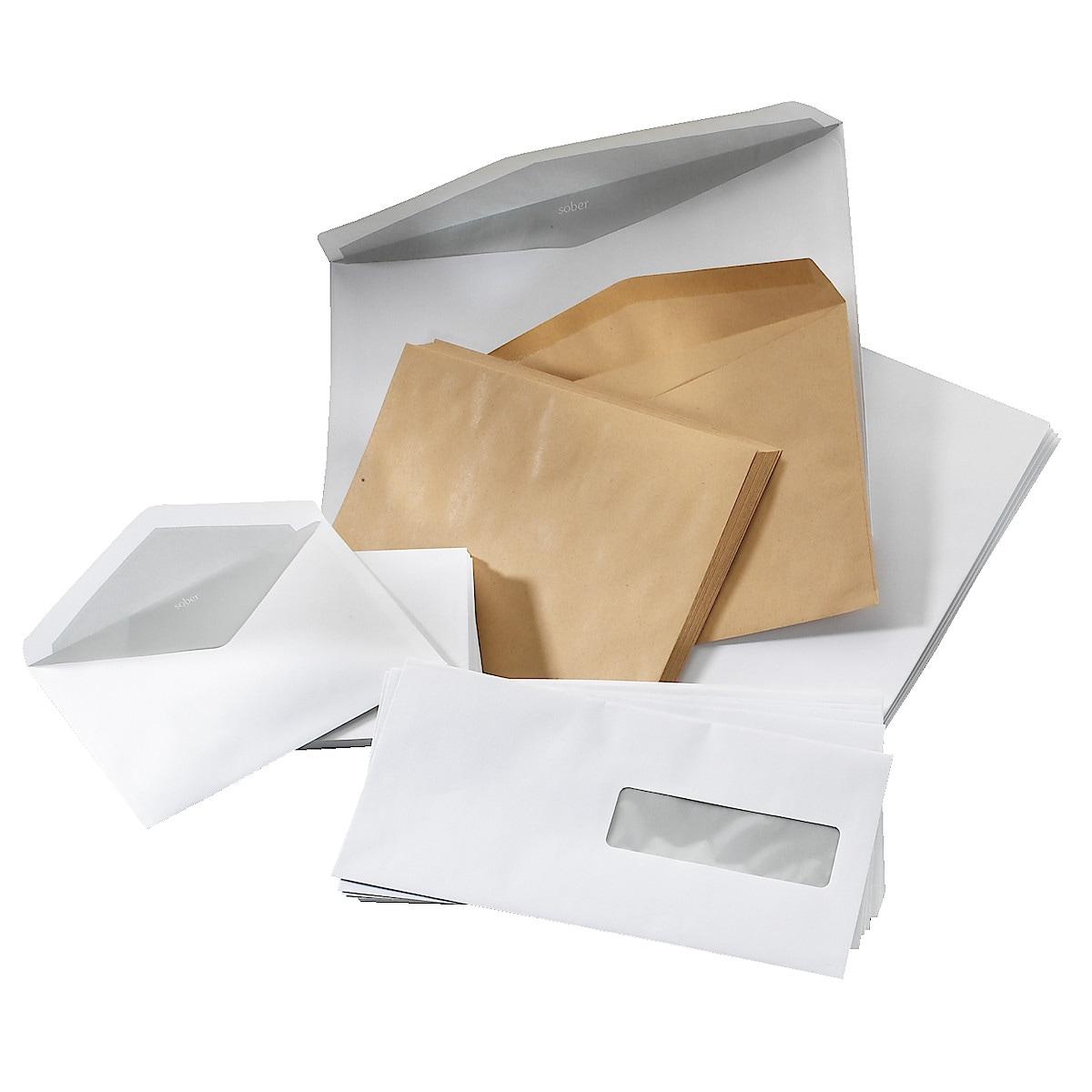 Standard DL Windowed envelopes, 50-pack