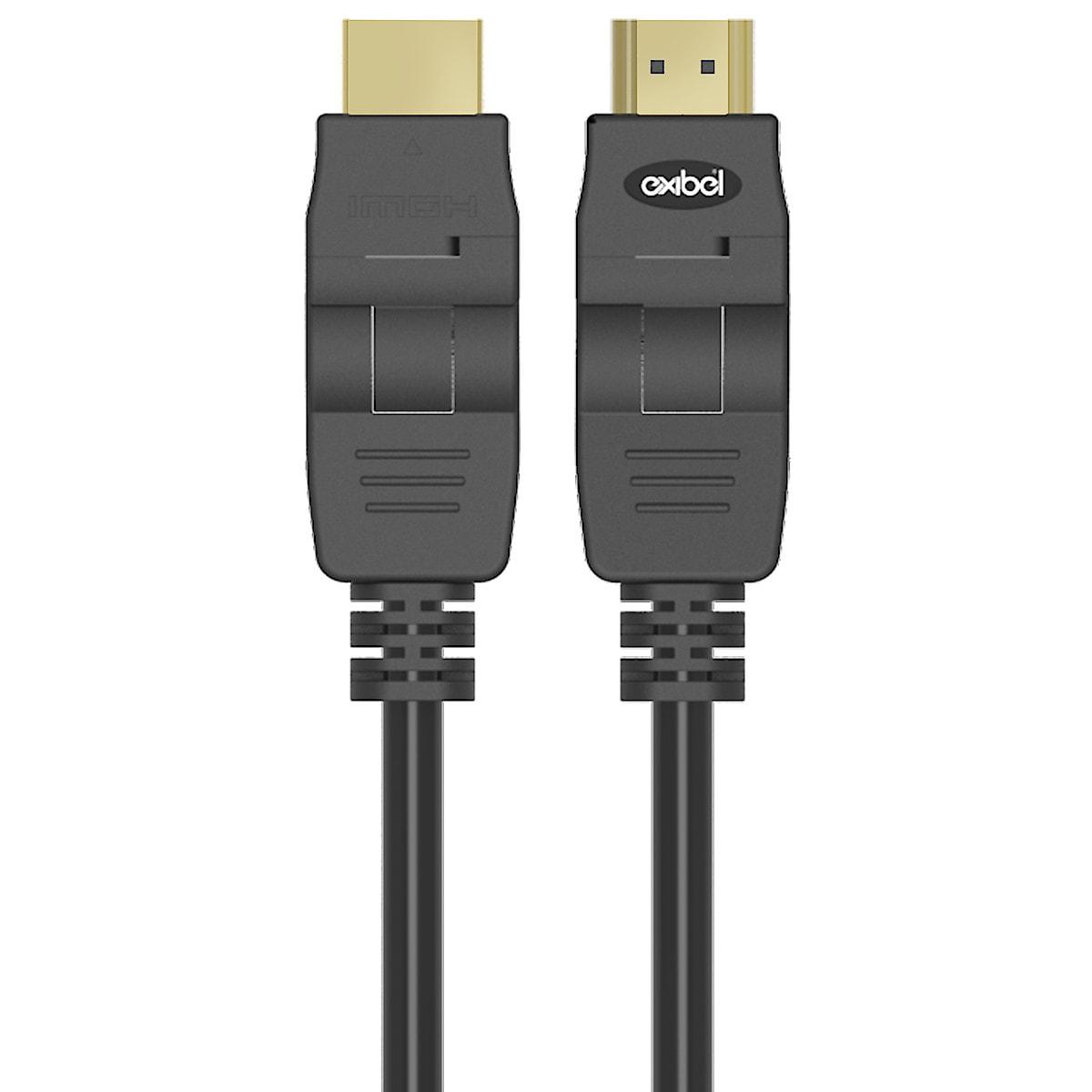Vinklingsbar HDMI-kabel Exibel