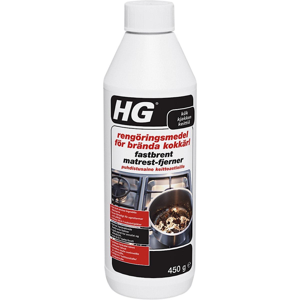 Rengöringsmedel brända kokkärl HG 450 g