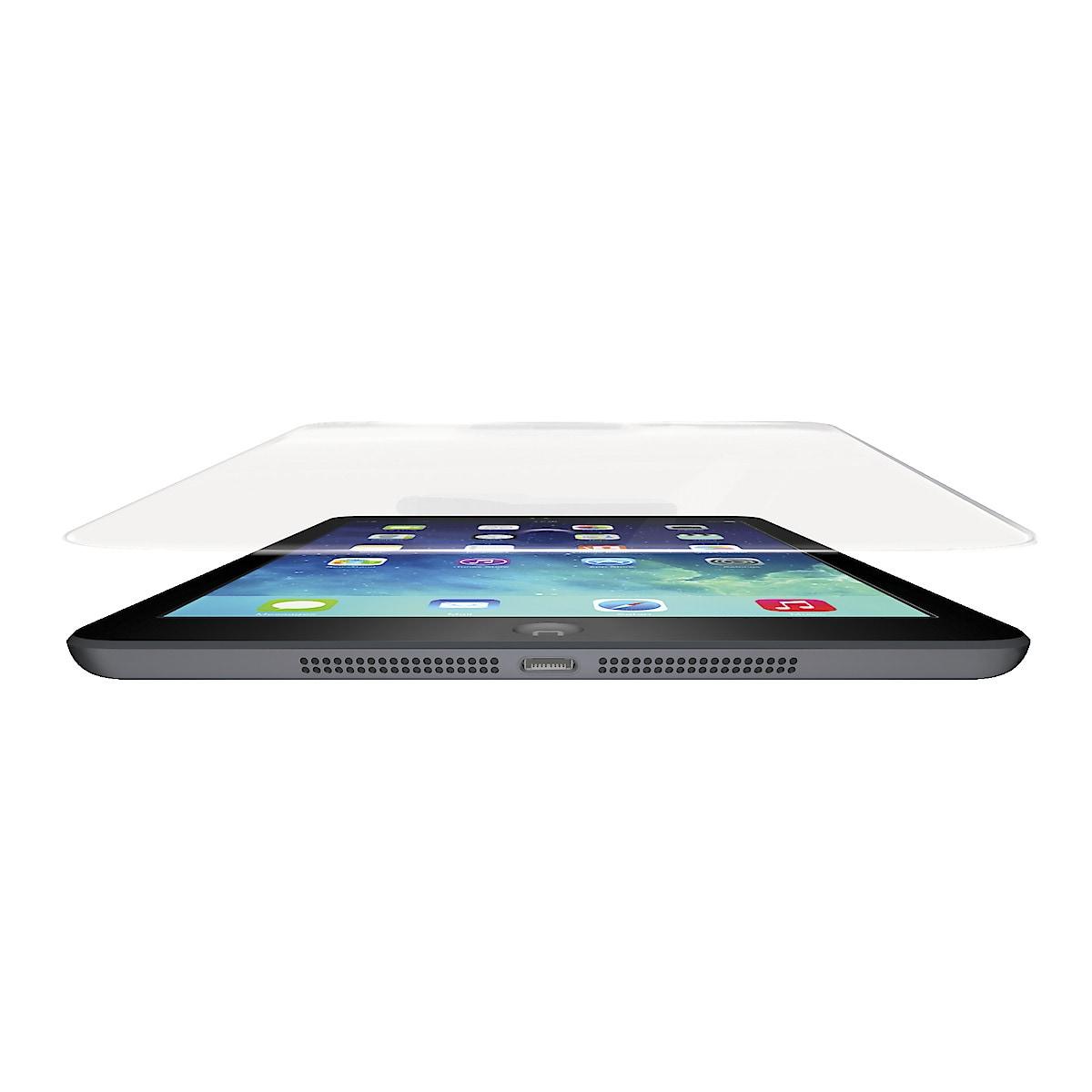 Lasinen näytönsuojus iPad minille, Zagg