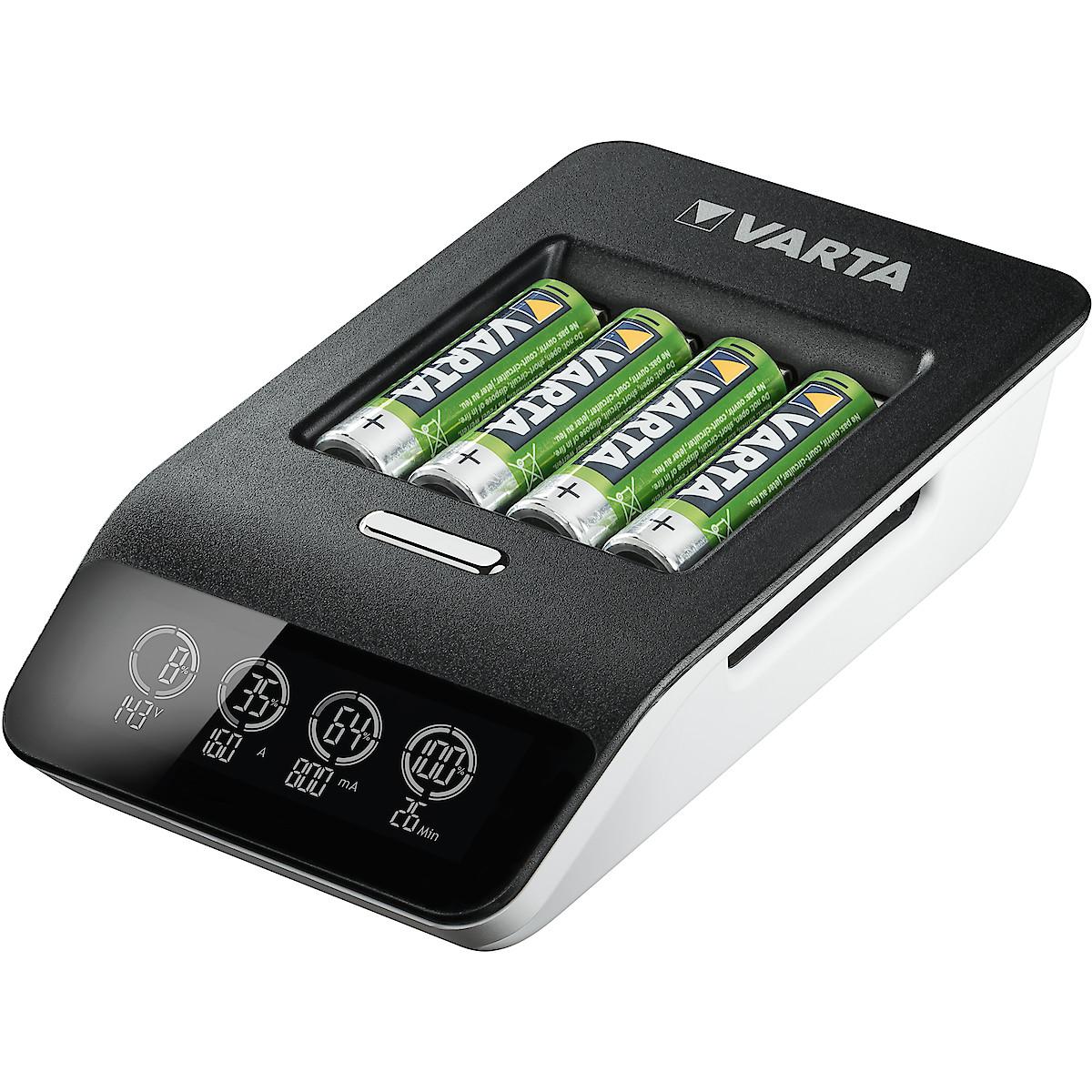 VARTA LCD Ultra Fast Charger+ batterilader