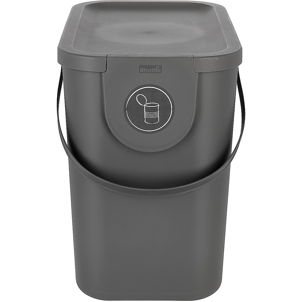 Jätteenlajitteluastia 25 l