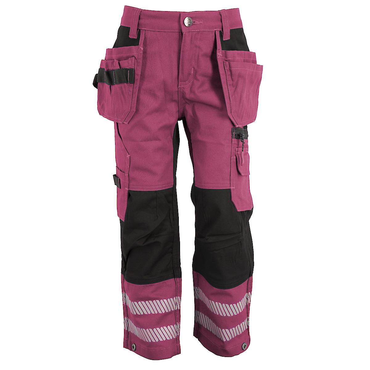 Arbetsbyxor barn, rosa