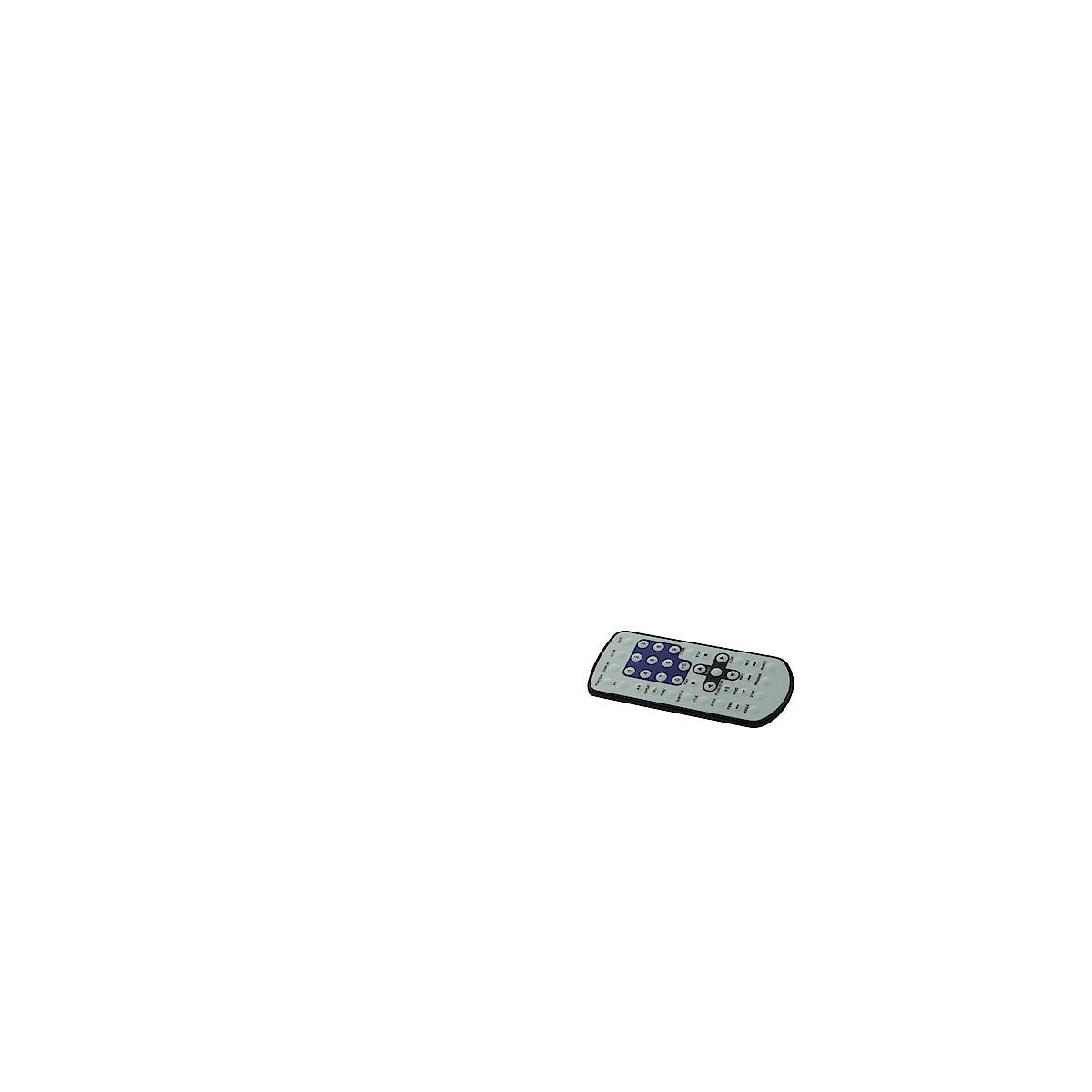 """Bärbar CD/MP3/DVD/MPEG4-spelare med  AM/FM-radio och uppfällbar 7"""" TFT monitor"""
