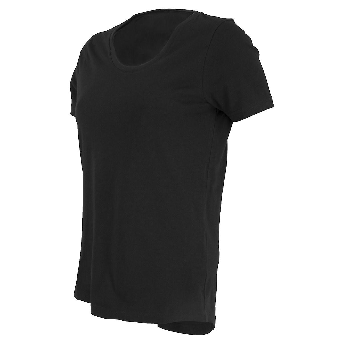 T-shirt dame, svart