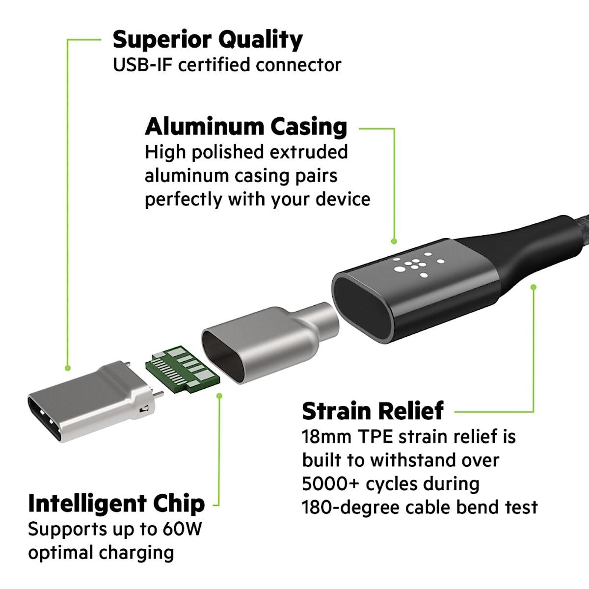 Belkin Mixit DuraTek, USB-C-kabel