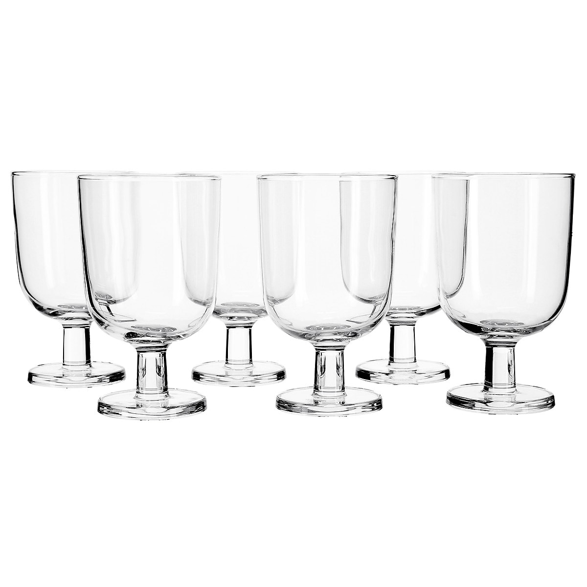 250 ml Glass Goblets 6-pack