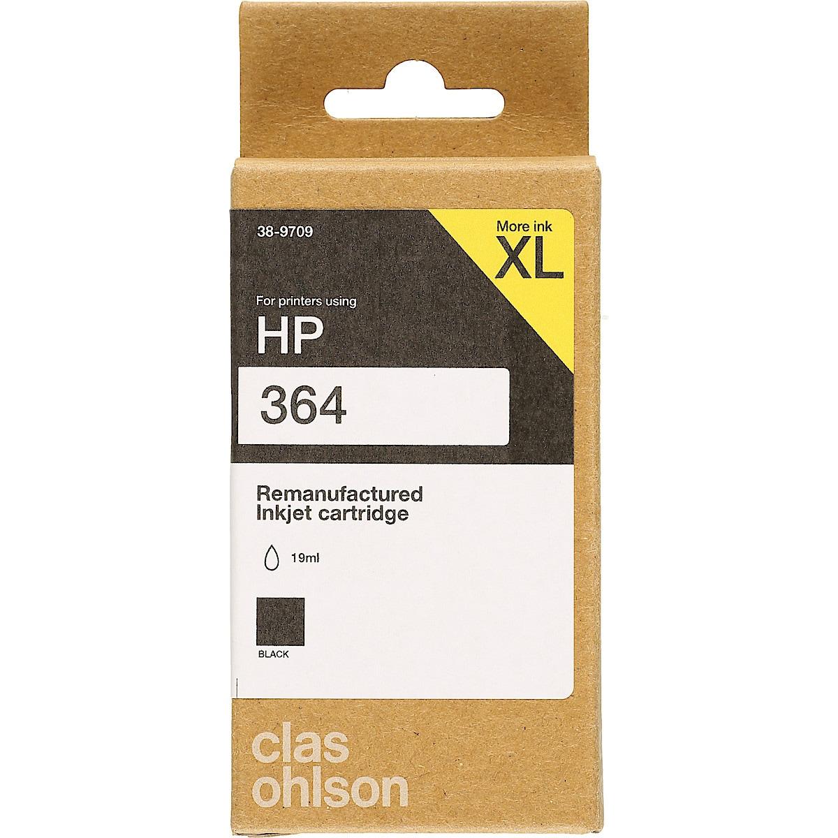 HP 364 bläckpatron XL, Clas Ohlson