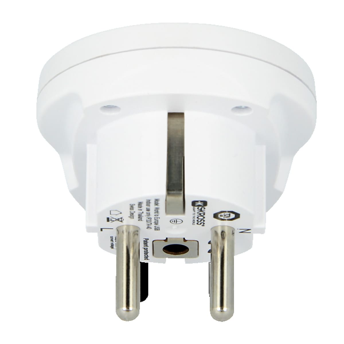Matka-adapteri SKROSS World to Europe USB