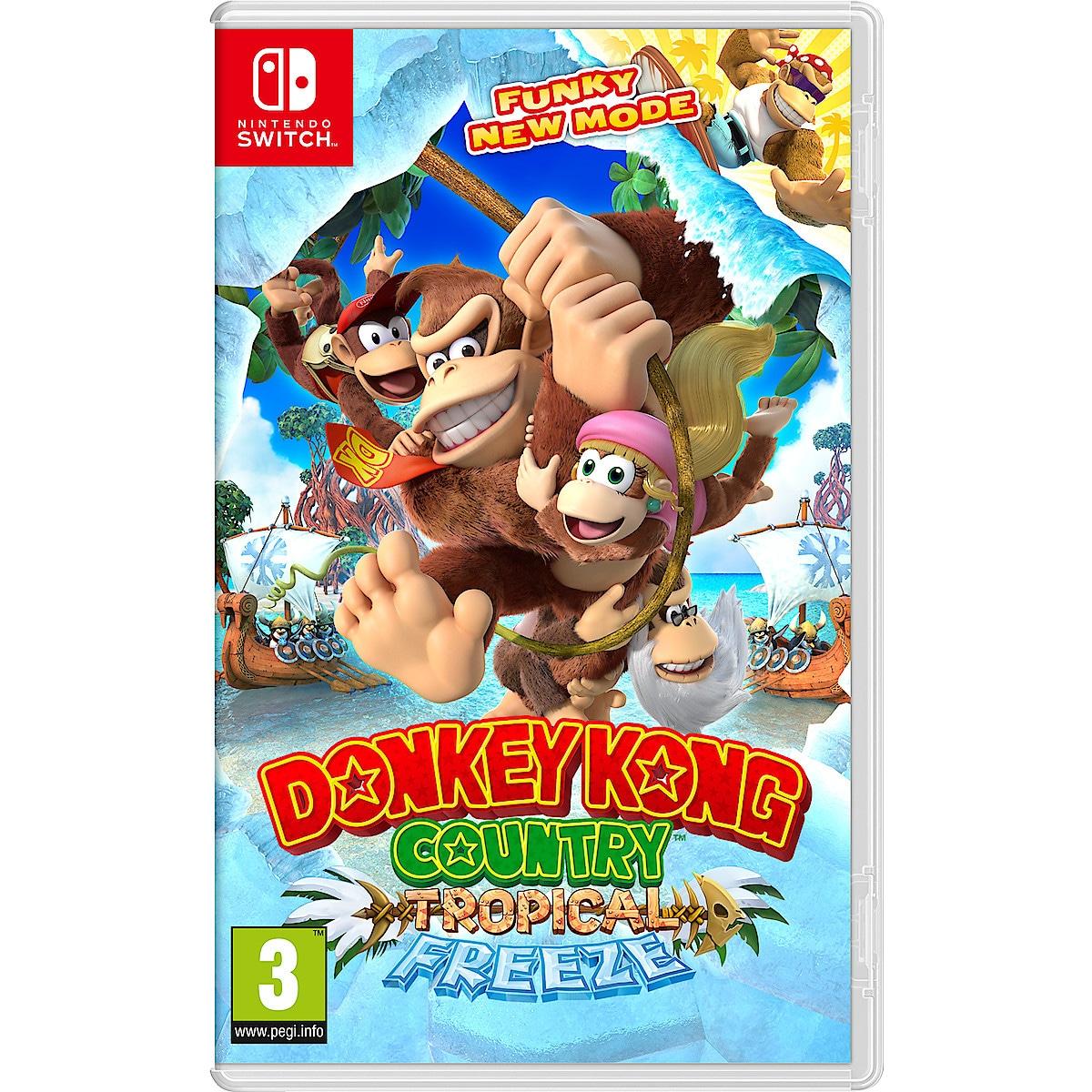 Tropical Freeze Donkey Kong. Spel till Nintendo Switch