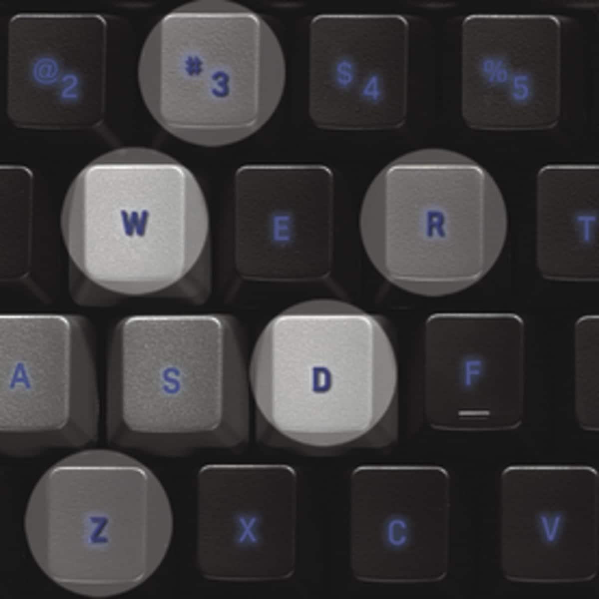 Logitech G105 spilltastatur