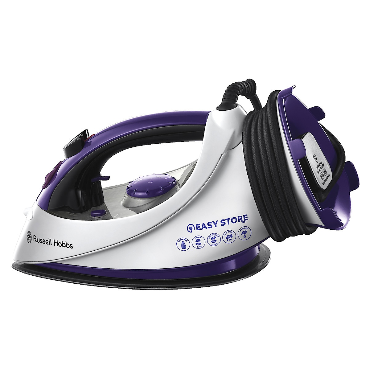 Russell Hobbs 18617 Easy Store Steam Iron
