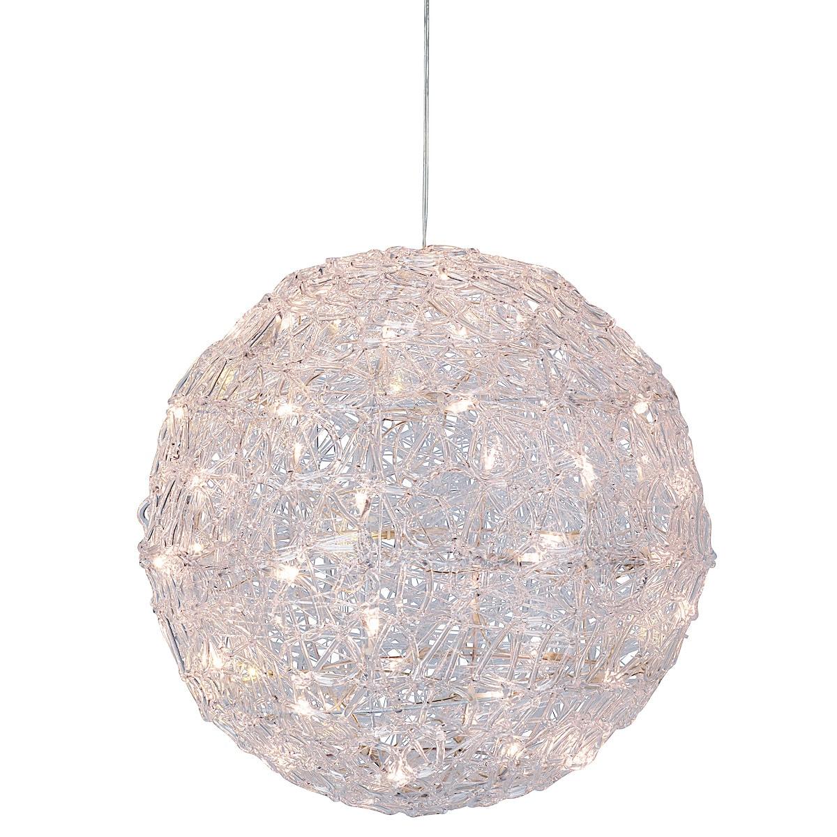 LED lysball