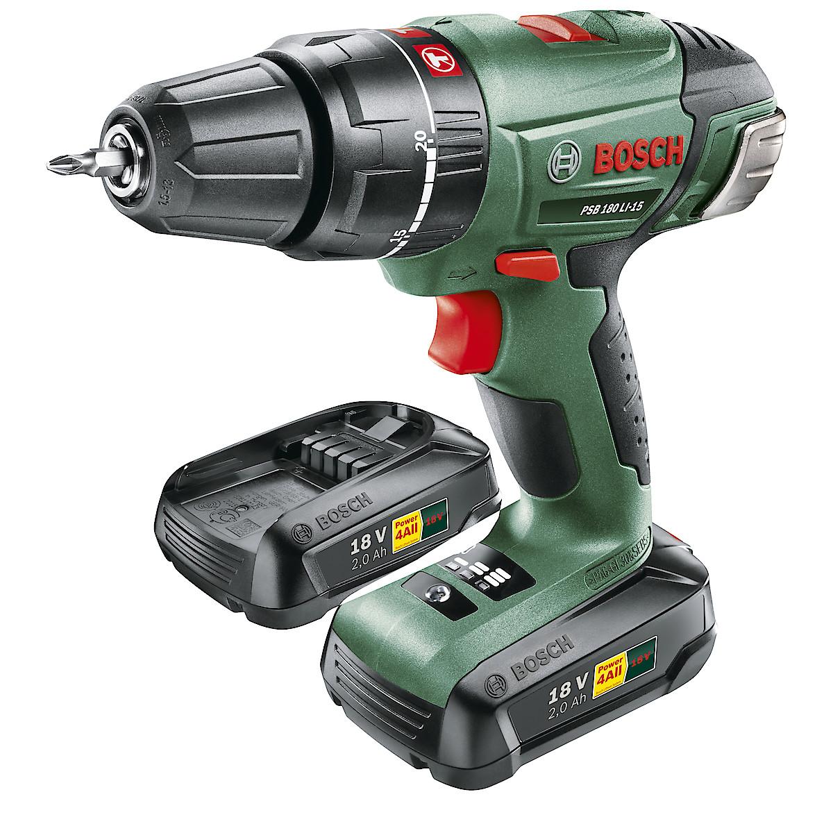 Bosch PSB 180 LI-15 drill