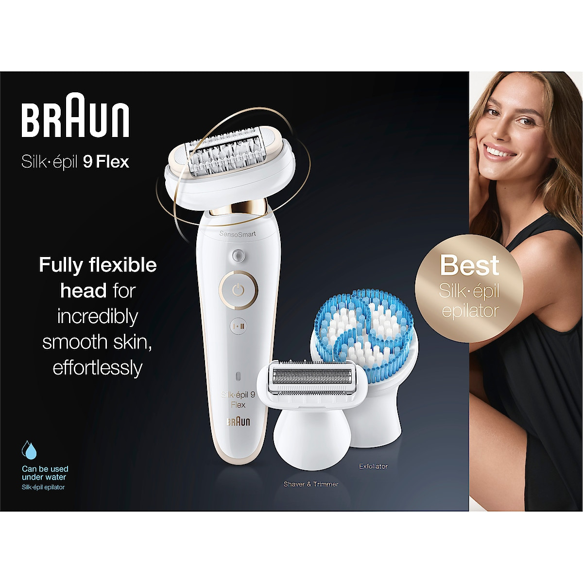 Braun Silk-épil 9 Flex 9-010, epilator