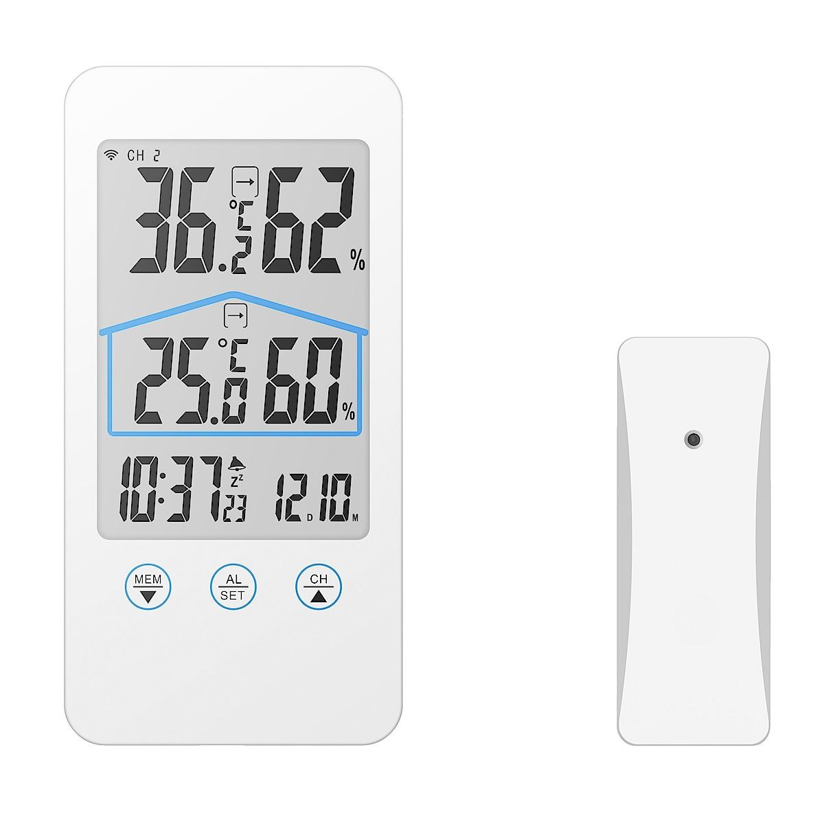 Trådlös hygrometer/termometer