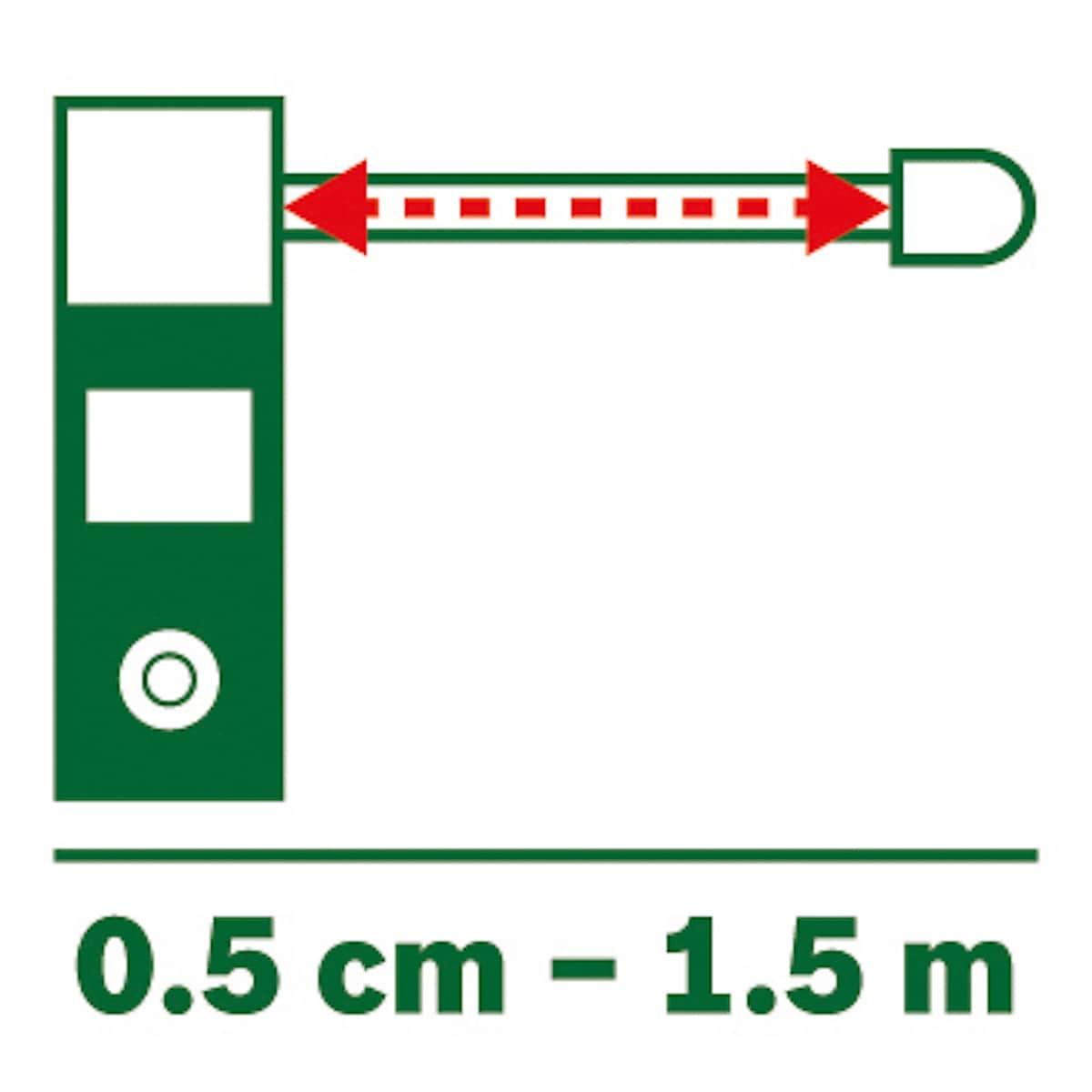 Målbåndsadapter til Bosch Zamo III