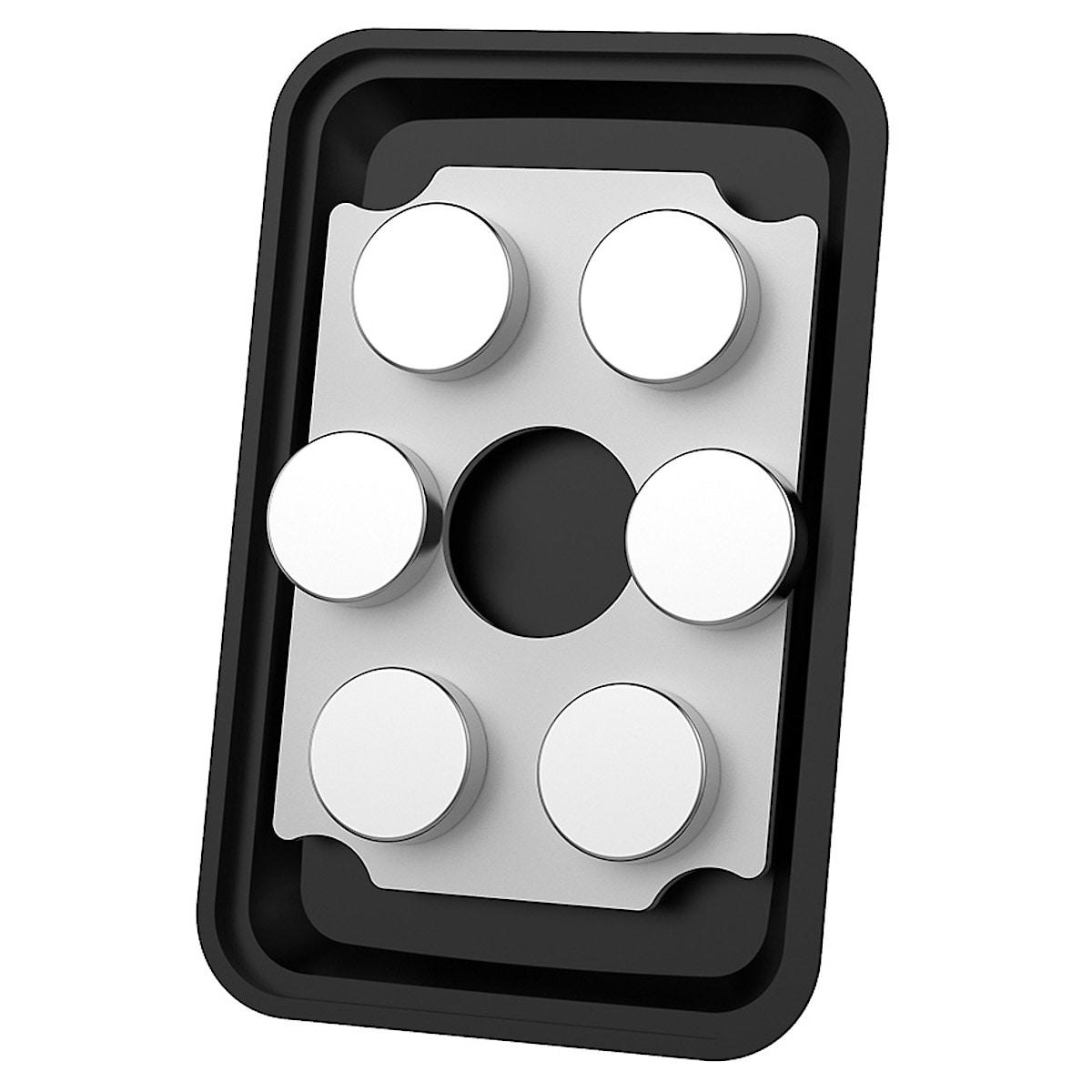 Celly Ghost Vent XL, mobilholder med magnet