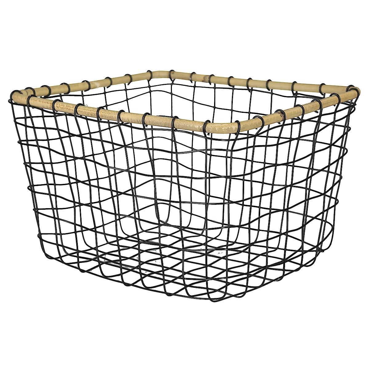 Trådkurv metall/rotting