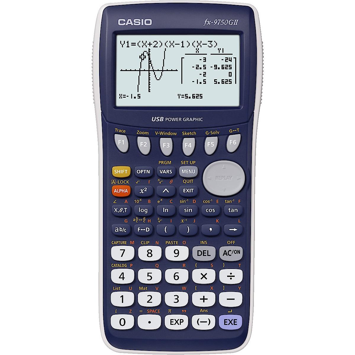 Grafräknare Casio FX-9750GII