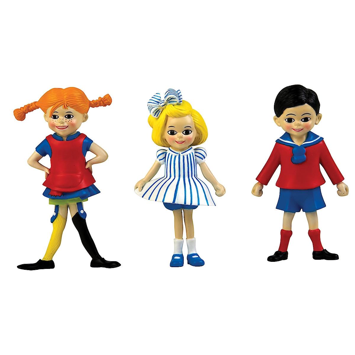 Dukkesett, Pippi, Tommy og Annika