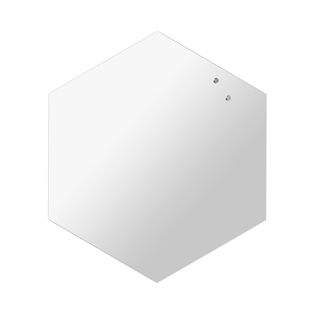 Magnetisk spegel Naga Hexagonal 42 cm