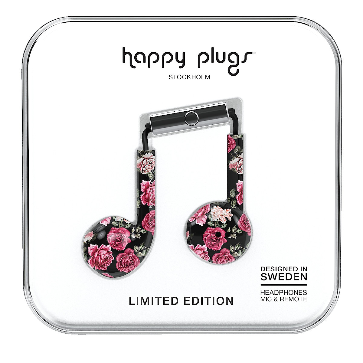Hörlurar med mikrofon, Happy Plugs Plus Earbud