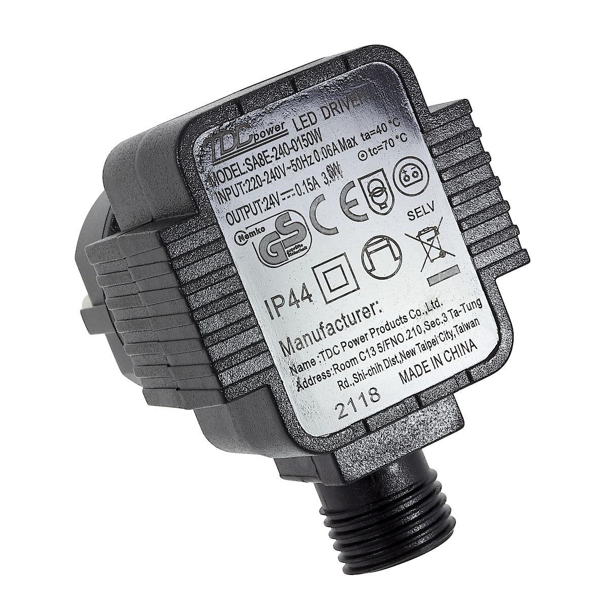 Nettadapter 24 V DC/0,15 A