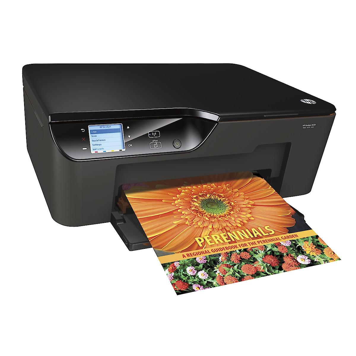 HP DeskJet 3520 Aio Alt-i-ett blekkskriver