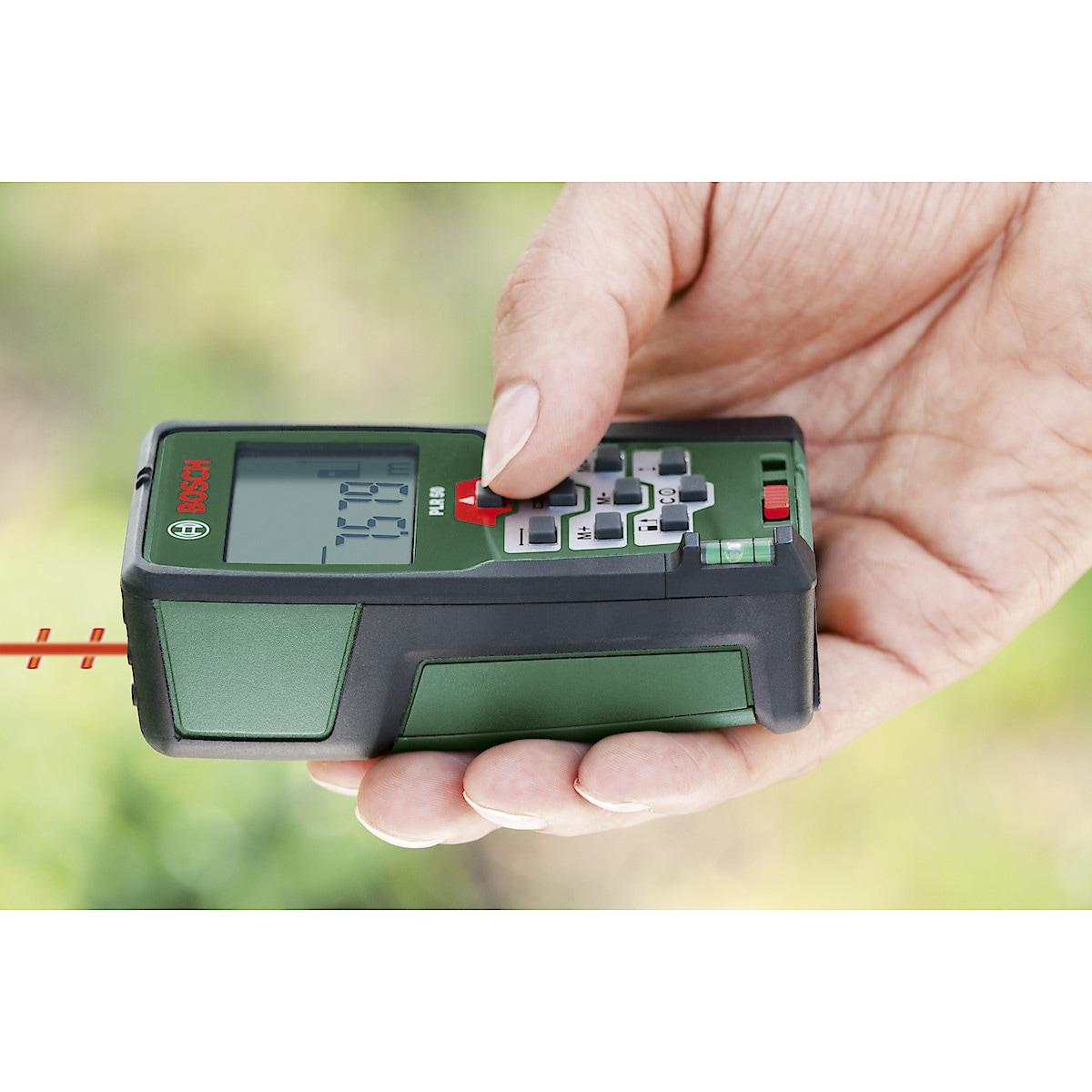 Laseretäisyysmittari Bosch PLR 50