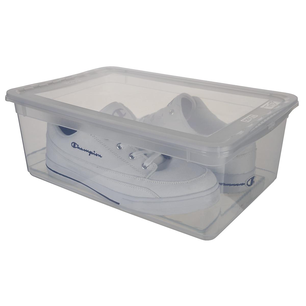 Kenkälaatikko, jossa tuuletusaukot