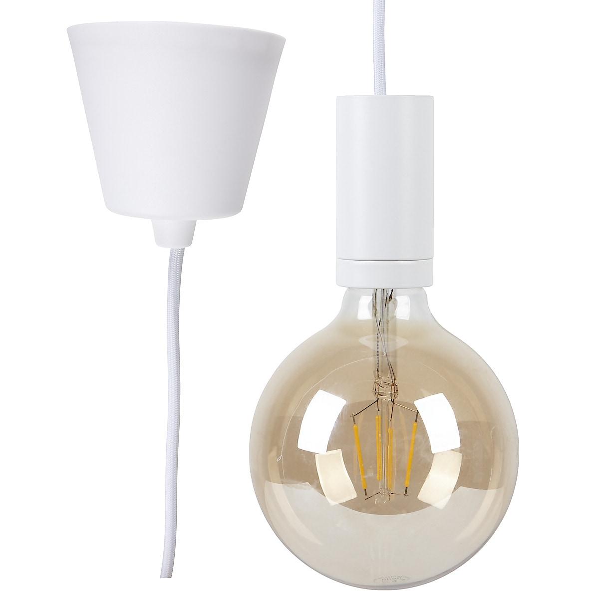 Lamphållare med tygklädd sladd Mix and Match Northlight