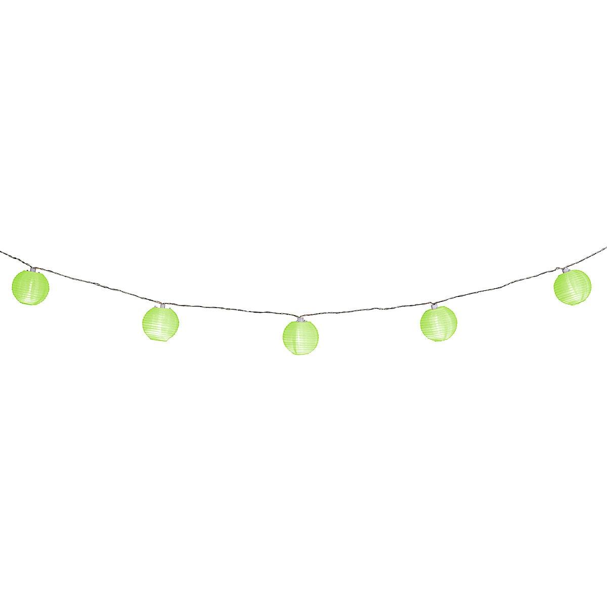 Rice Paper Lantern String Lights