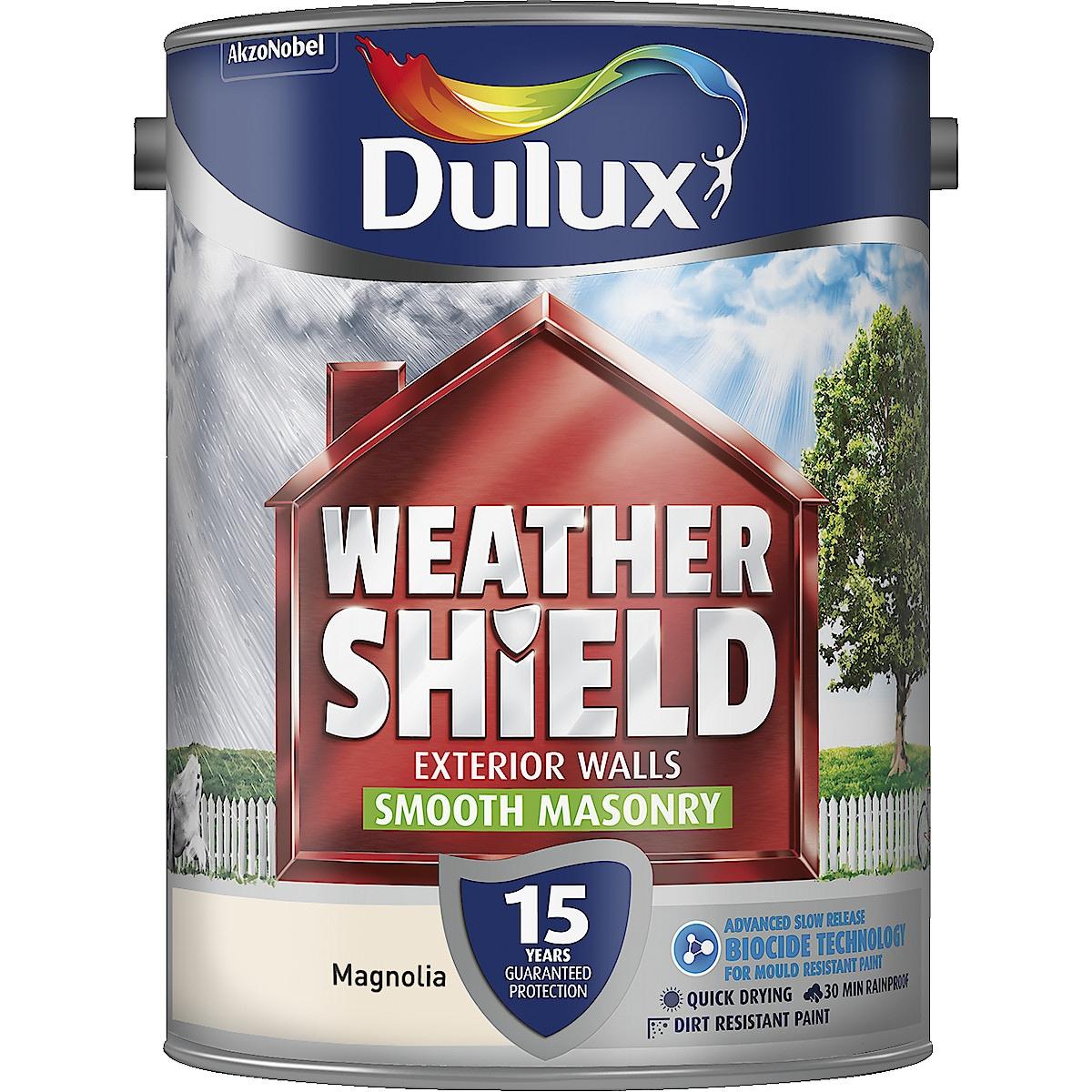 Dulux Weathershield Smooth Masonry Paint 5 L