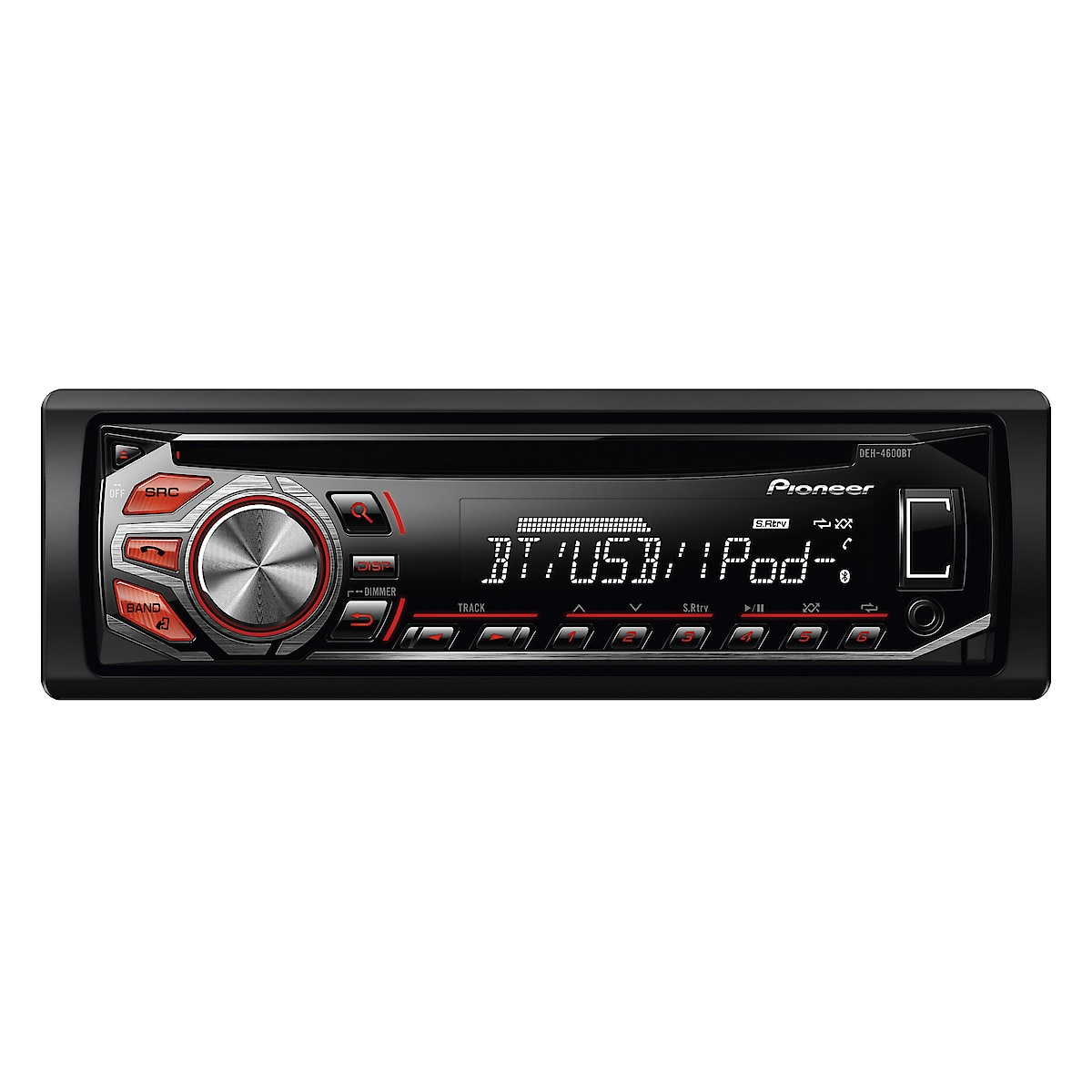 Bilstereo med Bluetooth, Pioneer DEH-4600 BT