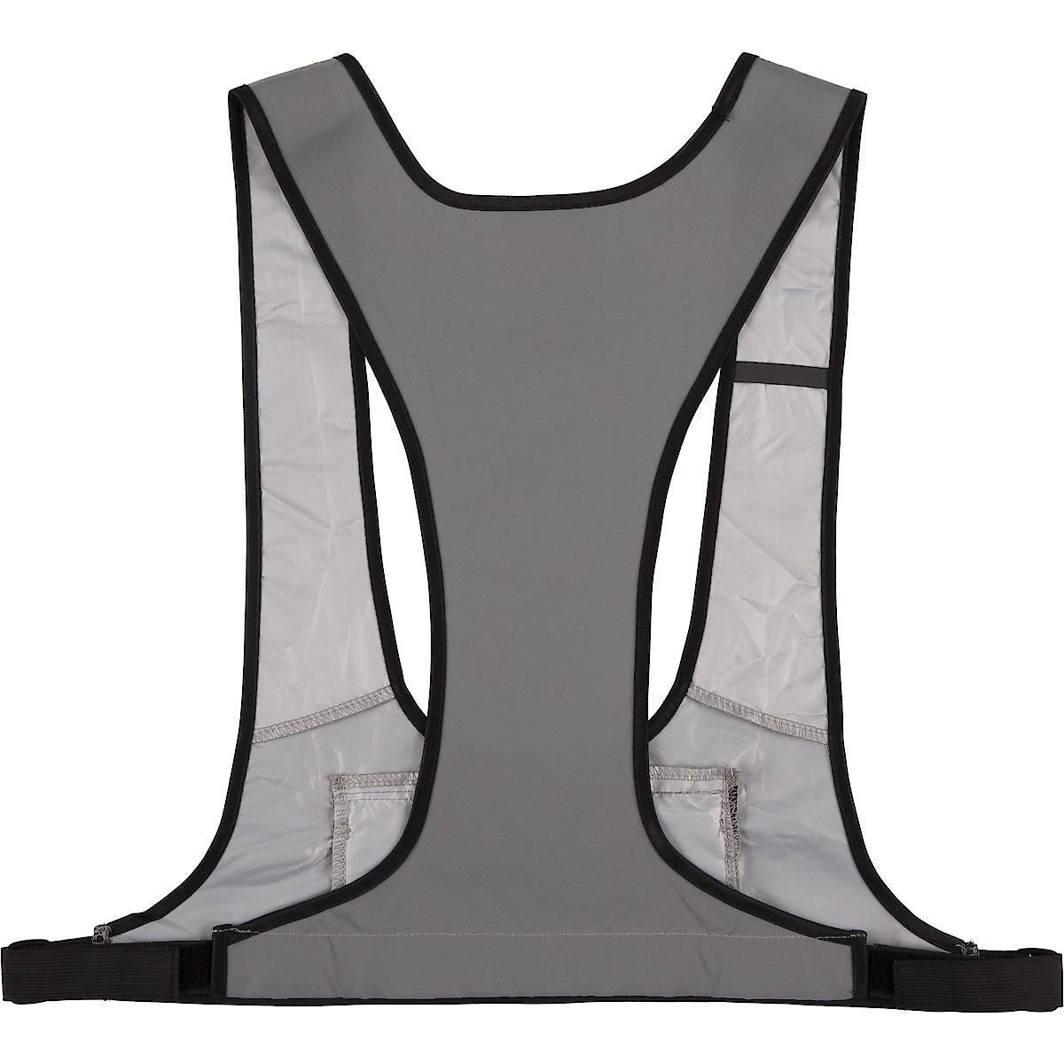 Clas Ohlson Grey Safety Vest