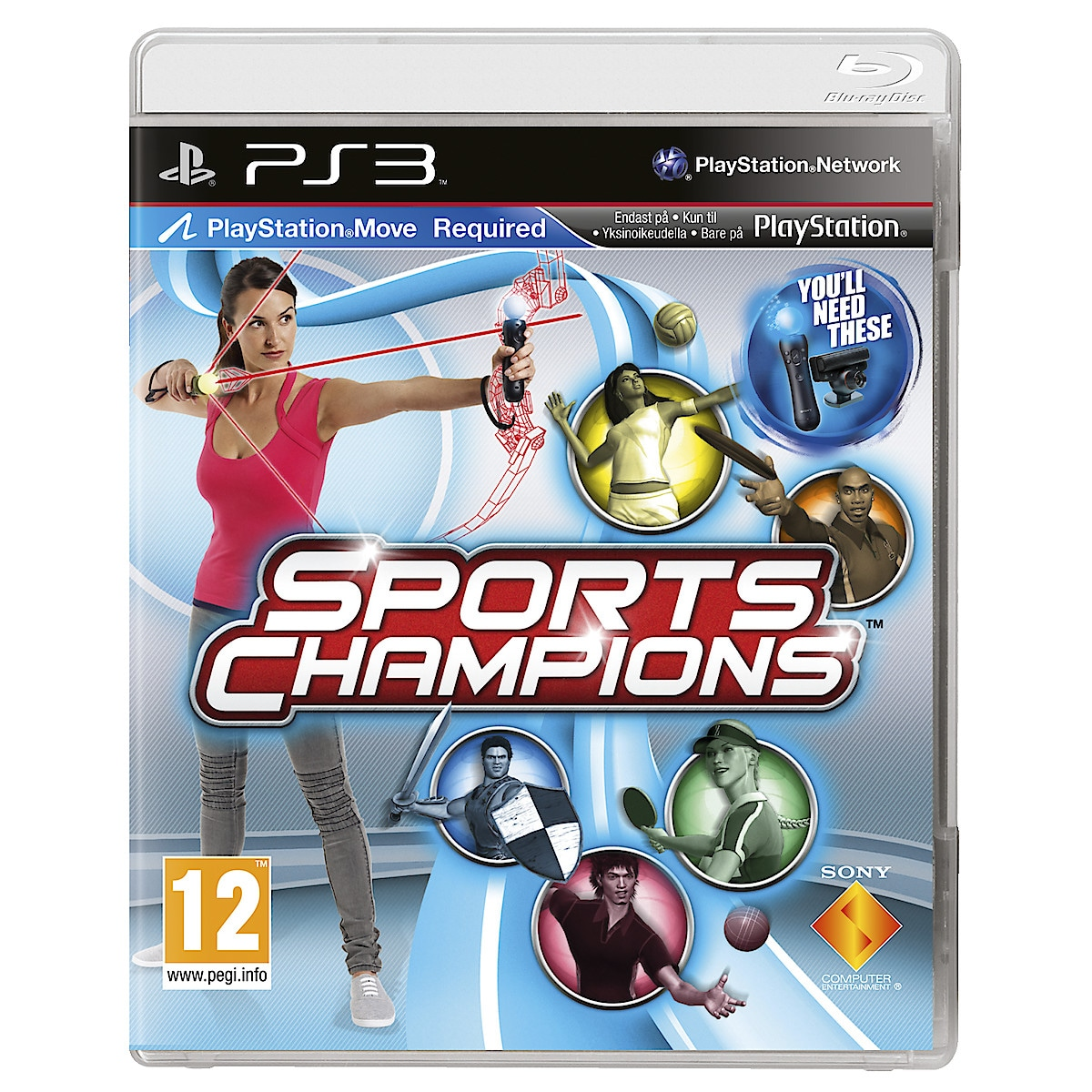 PlayStation 3-spill,Sports Champions
