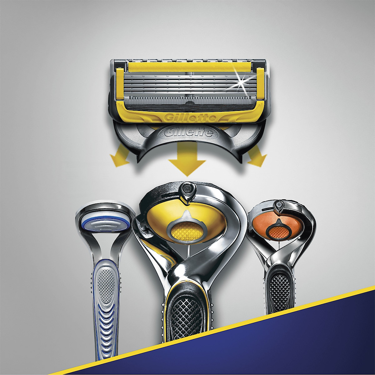 Rakblad Gillette Fusion ProShield Yellow 4-pack