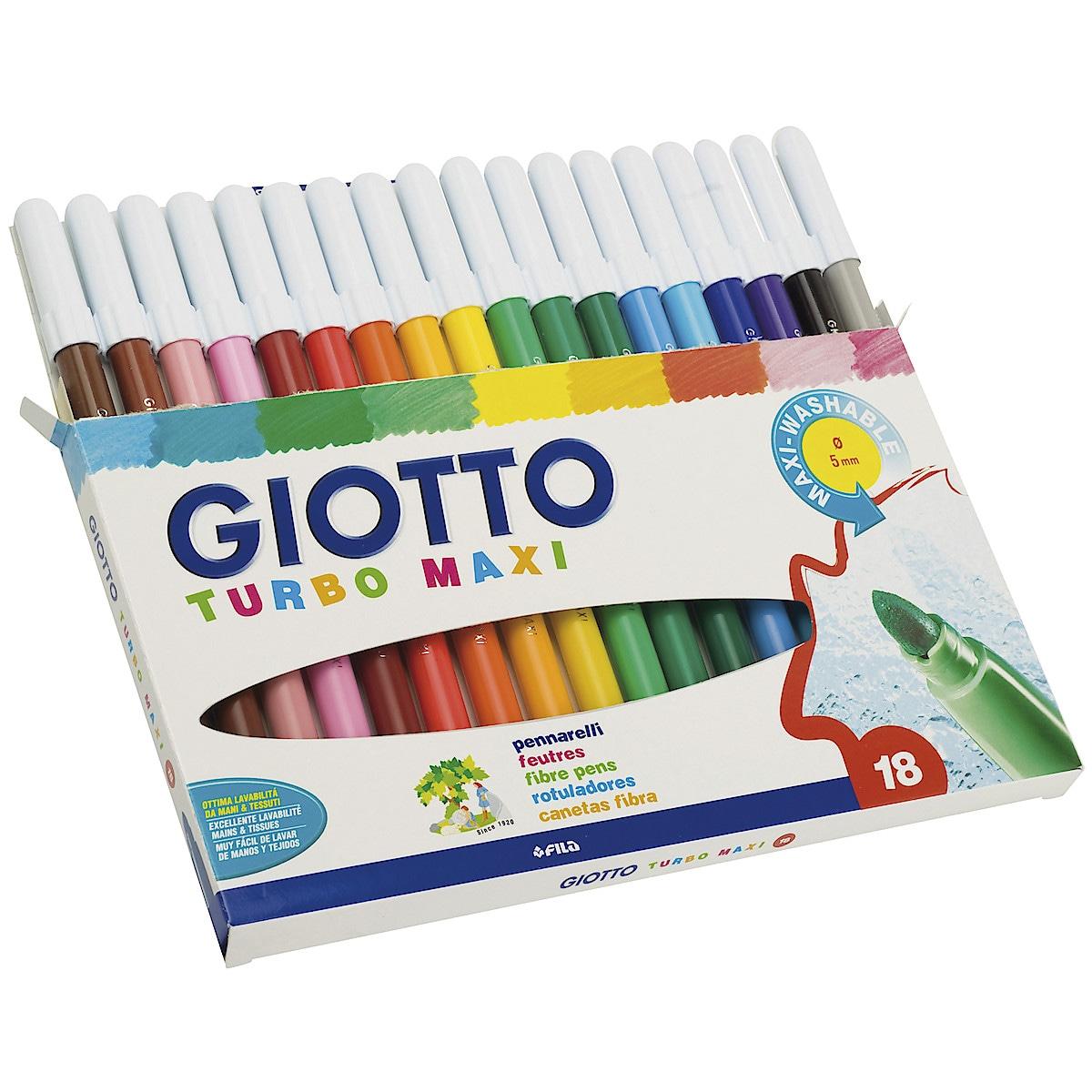 Giotto Turbo Maxi fiberpenner